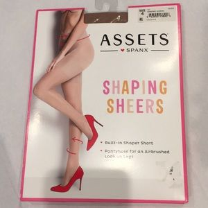 Spanx assets shaping sheers hose 4